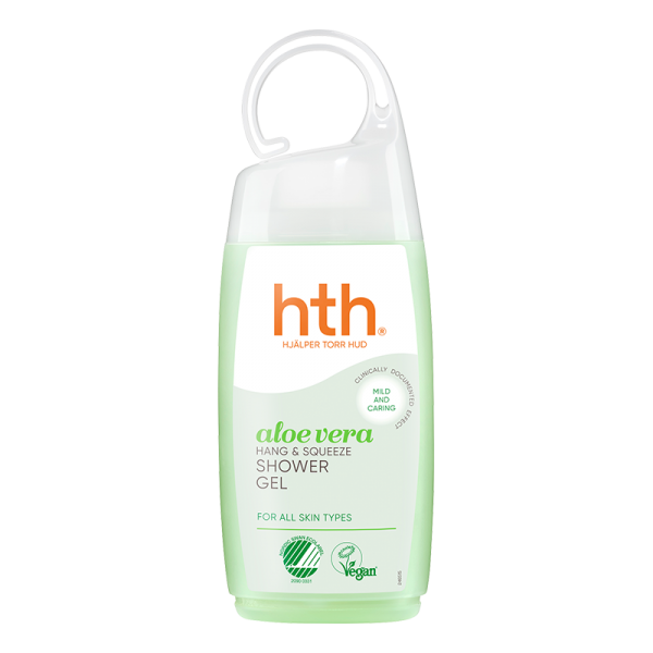 HTH aloe vera shower gel